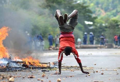 BURUNDI AFP PROTESTERS  ONE