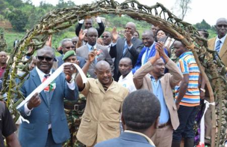 Barrage hydro-agricole du Burundi