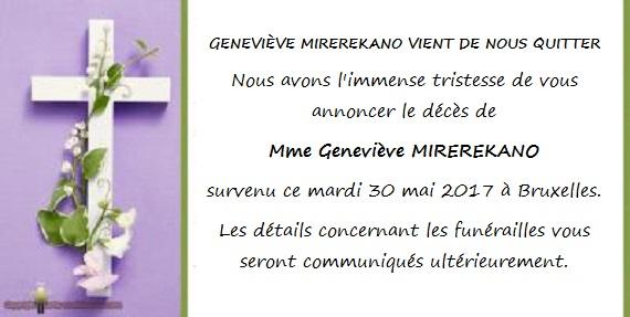 Mme Mirerekano