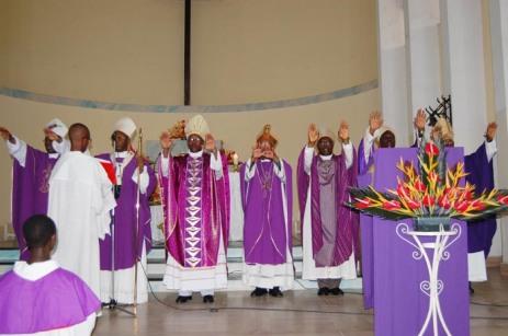 Burundi, le clergé