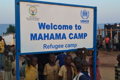 camp rwandais de Mahama